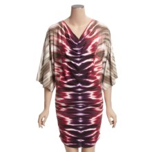 Carmen Marc Valvo Swimsuit Cover-Up - Kimono Sleeve (For Women) in Amethyst - Closeouts