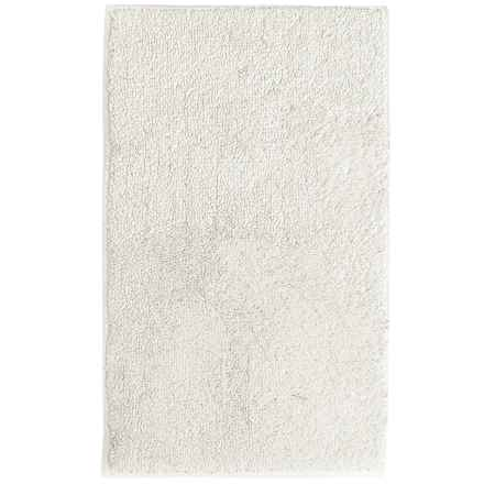 "Caro Home Luxury Ring-Spun Microcotton Bath Rug - 20x34"" in Ivory - Closeouts"