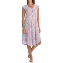Carole Hochman Ballet Nightgown - Short Sleeve (For Women) in Peony Pink - Overstock