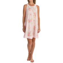 Carole Hochman Floral Chemise - Sleeveless (For Women) in Prism Blushed Bouquets - Overstock