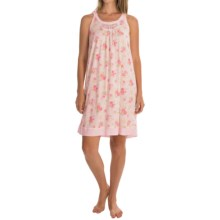 Carole Hochman Floral Chemise - Sleeveless (For Women) in Rose Garden - Overstock