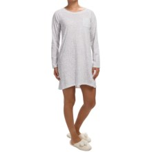 Carole Hochman Floral Print Nightgown - Long Sleeve (For Women) in Floral Lace - Closeouts