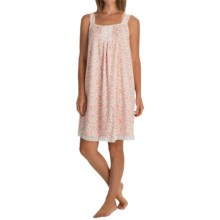 Carole Hochman Magnolia Lace-Trim Chemise - Sleeveless (For Women) in Petals - Overstock