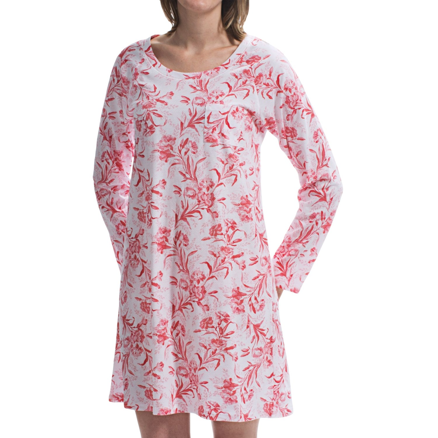 Choose from women's nightshirts that are % cotton or a mix of synthetic materials, which are comfortable to wear and easy to clean. When you slip on a nightgown for women you might feel an over powering urge to break out spontaneously in song.