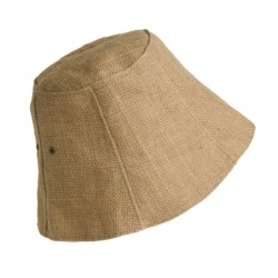 Carolina Amato Jute Hat (For Women) in Natural