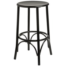 "Carolina Cottage Cafe Bar Stool - 24"" in Black - Closeouts"