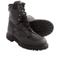 Carolina Shoe EH Insulated Work Boots - Waterproof, Insulated (For Men) in Black - Closeouts