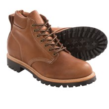 Carolina Shoe Lace-Up Work Boots (For Men) in Tan - Closeouts