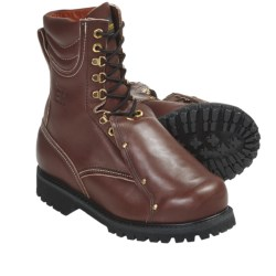 "Carolina Shoe Metatarsal Guard Work Boots - 9"", Steel Toe (For Men) in Dark Oak"