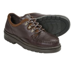 Carolina Shoe Oxford Work Shoes - Steel Moc Toe (For Men) in Brown