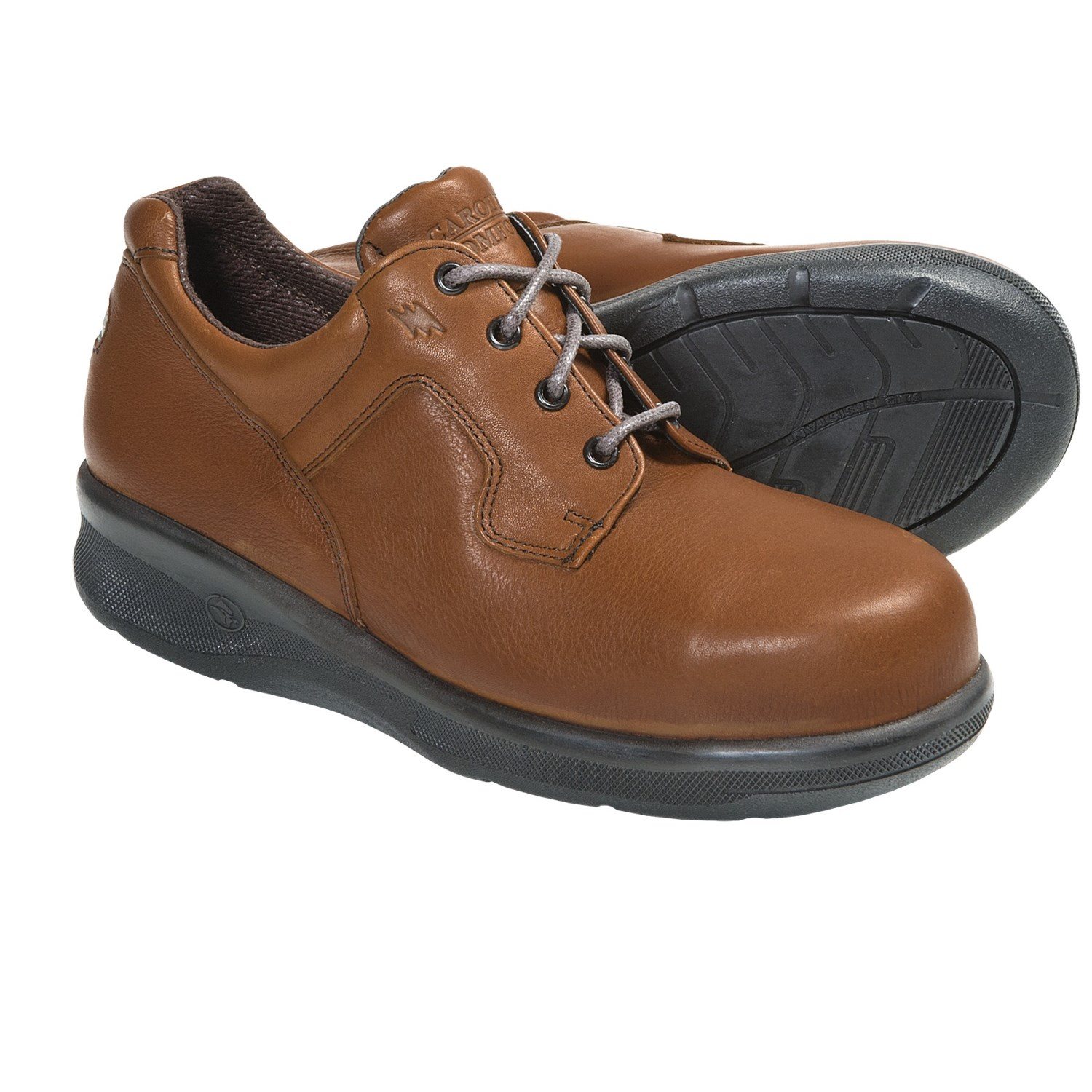 carolina shoe oxford work shoes steel toe leather for