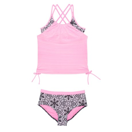 Image of Carousel Caper Tankini Set (For Big Girls)