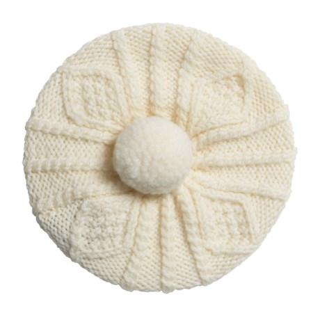 Carraig Donn Handknit Beret-Style Hat - Merino Wool (For Little Kids)