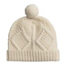 Carraig Donn Handknit Hat - Merino Wool (For Little Kids) in Off White - Closeouts