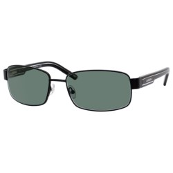 Carrera 7003 Sunglasses - Polarized in Semimatte/Black/Silver/Green