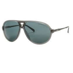 Carrera 7014 Sunglasses - Polarized in Matte Grey/Grey