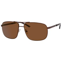 Carrera 7018 Sunglasses - Polarized in Matte Black/Grey
