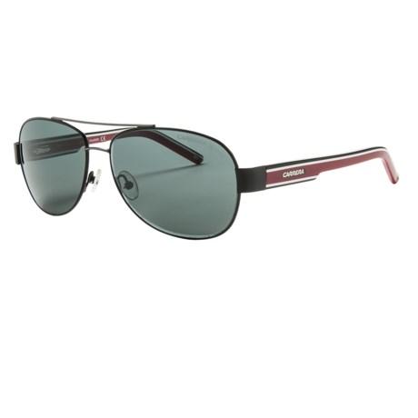 Carrera 7019 Sunglasses - Polarized in Black/Grey