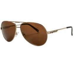 Carrera 7020 Sunglasses - Polarized in Matte Black/Grey