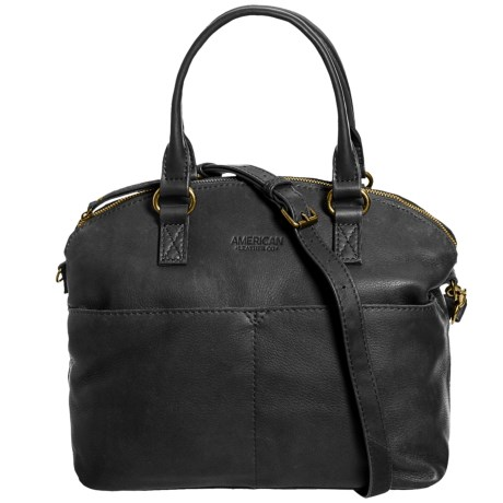 Image of Carrie Dome Satchel - Leather (For Women)