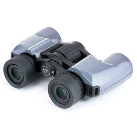 Carson Mantaray Porro Prism Binoculars - 8x24 in See Photo