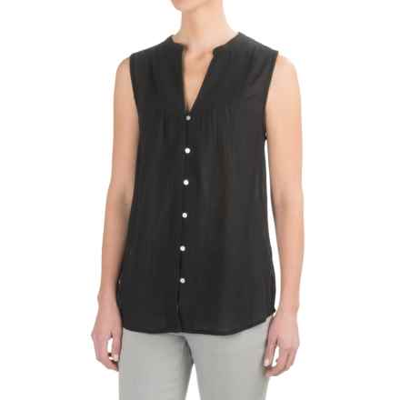Carve Designs Alix Shirt - Sleeveless (For Women) in Black - Closeouts