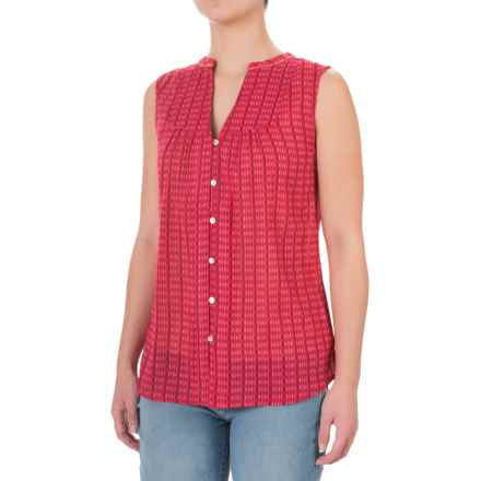 Carve Designs Alix Shirt - Sleeveless (For Women) in Strawberry Alpine - Closeouts
