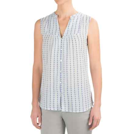 Carve Designs Alix Shirt - Sleeveless (For Women) in White Alpine - Closeouts