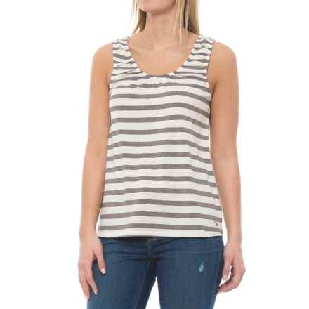 Carve Designs Amelia Tank Top - Organic Cotton-TENCEL® (For Women) in Ivory Antigua - Closeouts