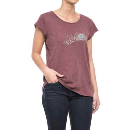 Carve Designs Anderson T-Shirt - Organic Cotton, Short Sleeve (For Women) in Clay - Closeouts
