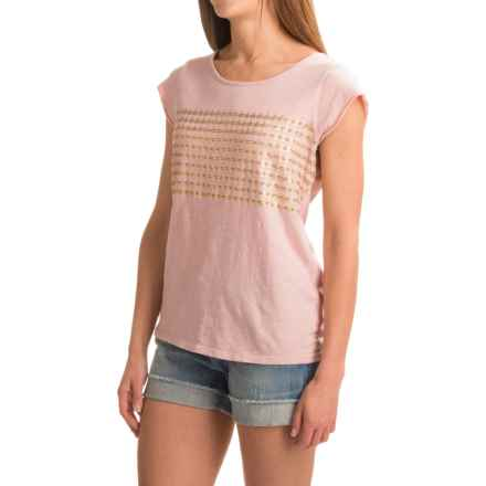 Carve Designs Anderson T-Shirt - Organic Cotton, Short Sleeve (For Women) in Faded Rose - Closeouts