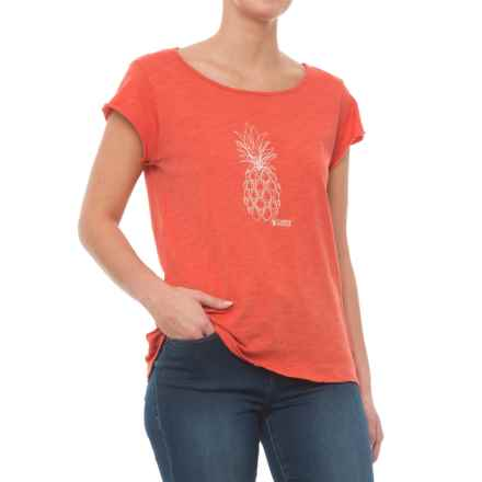 Carve Designs Anderson T-Shirt - Organic Cotton, Short Sleeve (For Women) in Sunkiss - Closeouts