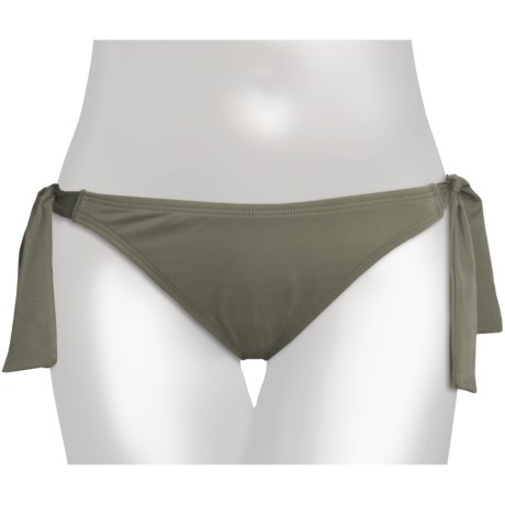 Carve Designs Bali Bikini Bottoms - UPF 50+ (For Women) in Olive