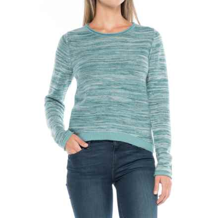 Carve Designs Basalt Sweater - Merino Wool (For Women) in Bluebird - Closeouts