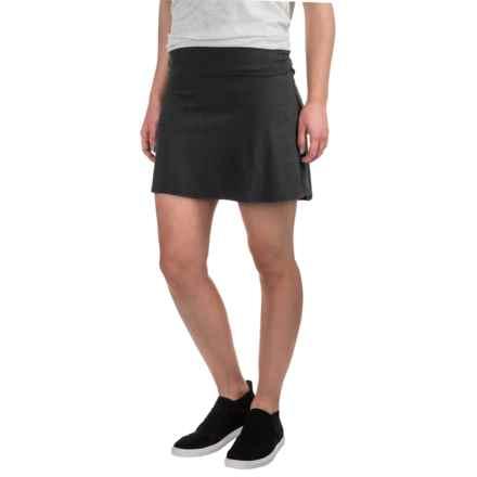 Carve Designs Bennet Flirt Skirt - Organic Cotton (For Women) in Black - Closeouts