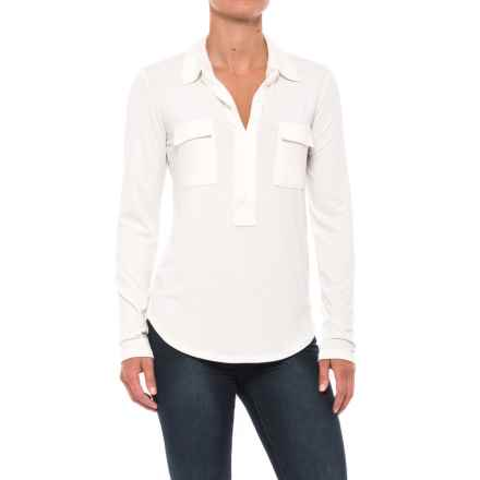 Carve Designs Bodega Shirt - Long Sleeve (For Women) in Birch - Closeouts