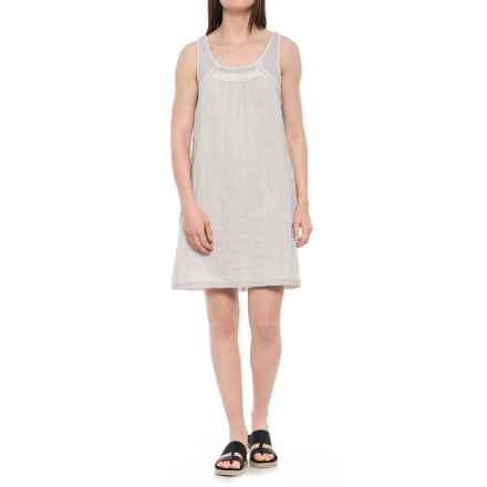 Carve Designs Brooke Voile Dress - Organic Cotton, Sleeveless (For Women) in Light Grey Mist - Closeouts