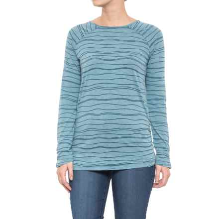 Carve Designs Cannon Shirt - Organic Cotton, Long Sleeve (For Women) in Harbor - Closeouts