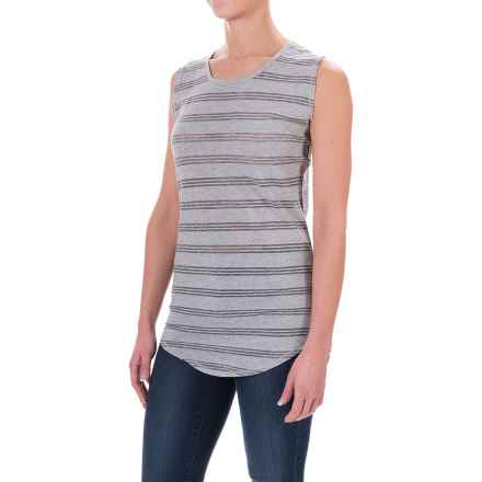 Carve Designs Cannon T-Shirt - Sleeveless (For Women) in Grey - Closeouts