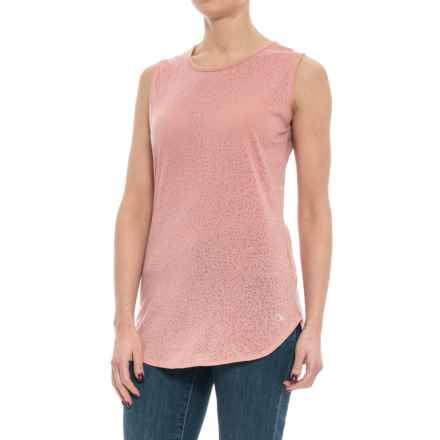 Carve Designs Cannon T-Shirt - Sleeveless (For Women) in Terracotta - Closeouts