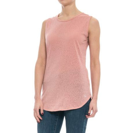 Carve Designs Cannon T-Shirt - Sleeveless (For Women) in Terracotta