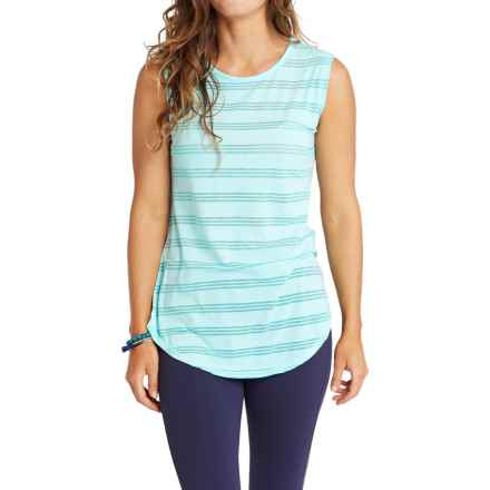 Carve Designs Cannon T-Shirt - Sleeveless (For Women) in Turquoise - Closeouts