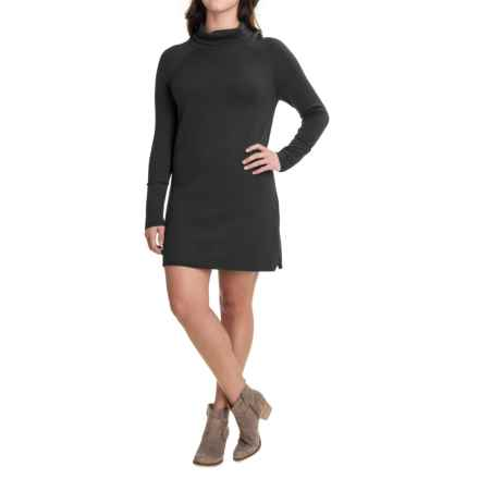Carve Designs Carbondale Knit Dress - Merino Wool, Long Sleeve (For Women) in Black - Closeouts