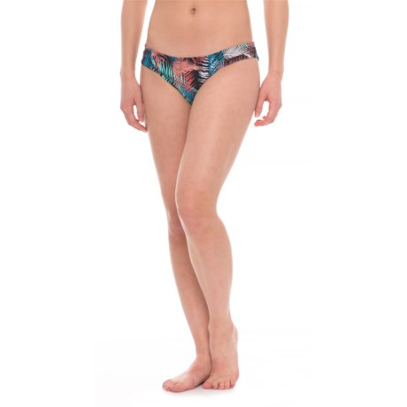 Carve Designs Cardiff Bikini Bottoms - UPF 50+ (For Women) in Black Kauai