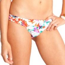 Carve Designs Cardiff Bikini Bottoms - UPF 50+ (For Women) in White Paradise - Closeouts