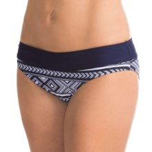 Carve Designs Catalina Bikini Bottoms - UPF 50+, Four-Way Stretch (For Women) in Anchor Bali/Anchor - Closeouts