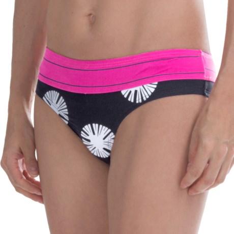 Carve Designs Catalina Bikini Bottoms - UPF 50+, Four-Way Stretch (For Women) in Dandelion