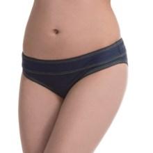 Carve Designs Catalina Bikini Bottoms - UPF 50+, Four-Way Stretch (For Women) in Indigo/Citron - Closeouts