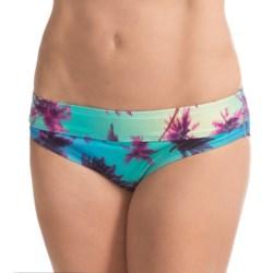 Carve Designs Catalina Bikini Bottoms - UPF 50+, Four-Way Stretch (For Women) in Palms