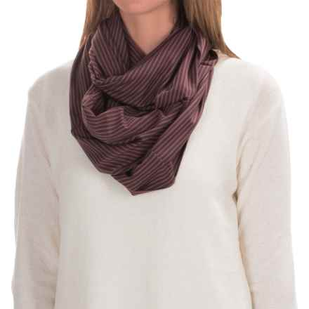 Carve Designs Cedars Infinity Scarf (For Women) in Spice Stripe - Closeouts